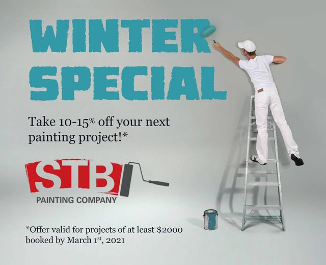 STB Painting Company Winter Promo