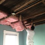 Baltimore-MD-residential-ceiling-bedroom-fiberglass-insulation-drywall-repair-progress-01a_71
