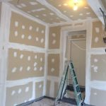 Annapolis-MD-residential-ceiling-garage-fiberglass-insulation-drywall-repair-progress-07b_74