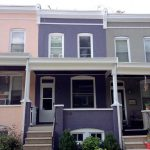 residential exterior painting rowhouse after image stb