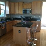 home painting kitchen cabinets before image stb