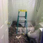 Ellicott City MD insulation drywall painting bathroom during 01a