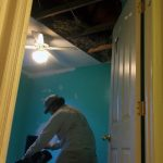 Ellicott City MD insulation drywall painting bedroom ceiling during 01a