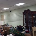 Gaithersburg MD commercial store painting before 02a