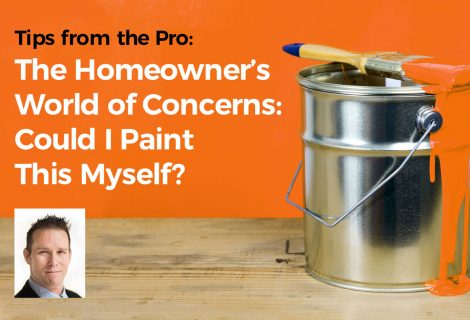 The Homeowner's World of Concerns: Could I Paint This Myself?
